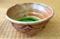 Shino glazed chawan