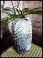 paddled 'hikidashi' flowers vase