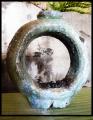 doughnut vase