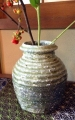 'uzukumaru' crouching vase