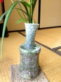 'kinuta'  mallet shaped vase