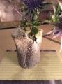 敗れ花入 torn flower vase