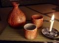 Shigaraki sake cups