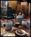 Go-go tea set
