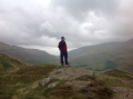 over the craggy fells