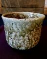 natural ash glaze tea bowl