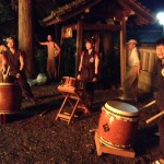 drummers at the shrine
