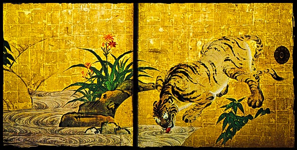 "南禅寺 ""Gunko-zu"" - ""Tiger fusuma at Nanzen-ji"